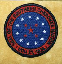Southern Cherokee Nation Seal Patch