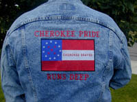 Cherokee Pride Runs Deep Denim Jacket